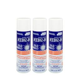 Somaca Hi Sheen Glass Cleaner - Pack of 3 Cans