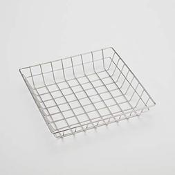 American Metalcraft SQGS10 Square Wire Grid Basket, Stainles