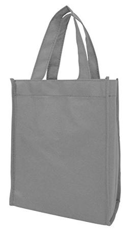 25 Pack Totes- Party Favors Kids Adults Small Book Bag Non W