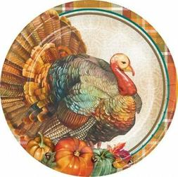 Traditional Thanksgiving 10 Inch Paper Plate Thanksgiving Pa